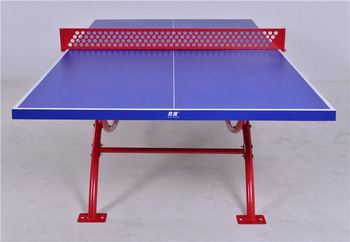 Outdoor Waterproof Design Structure Material Water  Proof Ping Pong Mini  Tennis Table
