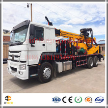 High Efficiency Mud and Air DTH Vehicle Mounted Water Drill Rig