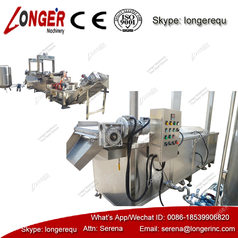 Automatic frying machine french fries/ commercial deep fryers potato french fries