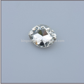 Factory direct high quality Crystal point back Navette fancy stones