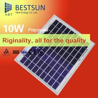 A-grade& high efficiency 10W poly solar panel solar panel price in india is lowest with TUV CE certificate