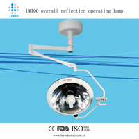 Hanging mounted shadowless surgery room light price LW700
