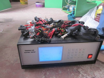 made in china CRS3 common rail injector and pump tester ECU