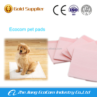 Pet accessories disposable puppy training pad waterproof pet pad with inducer