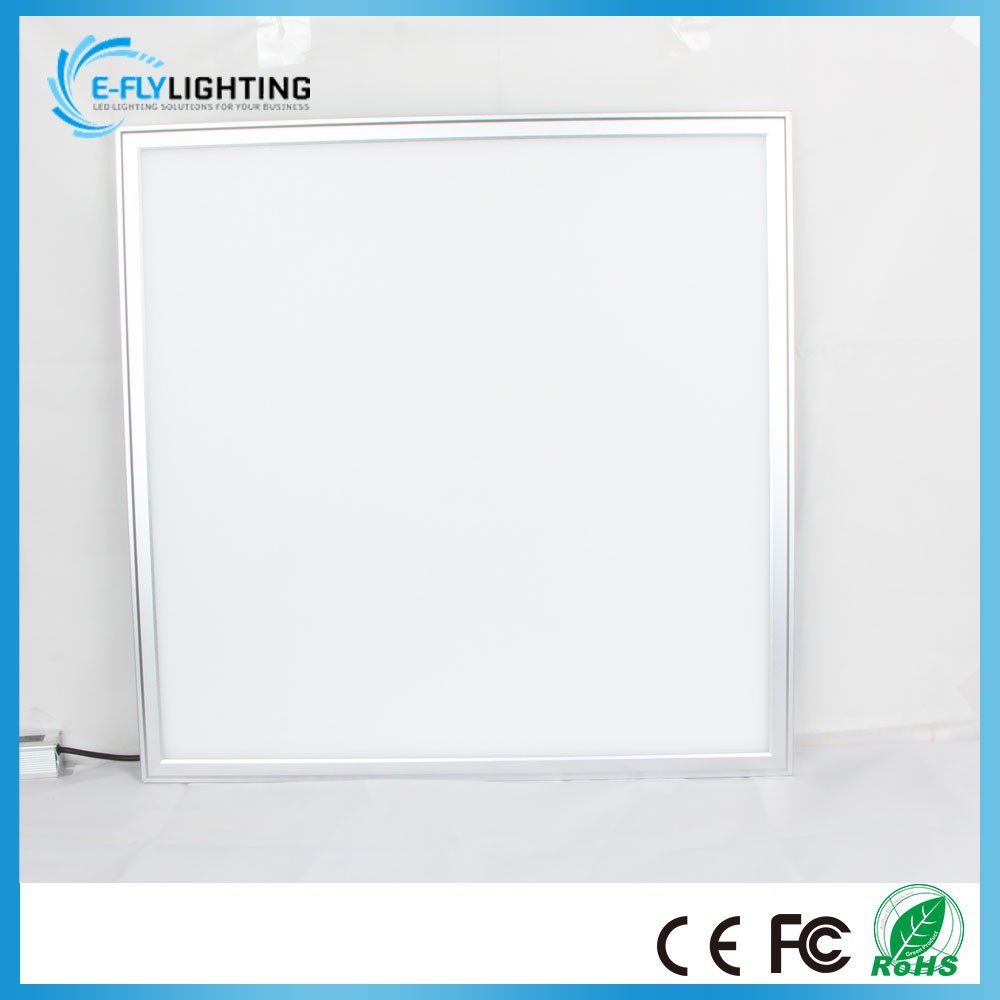 recessed mounted dimmable white led suspended ceiling light panel