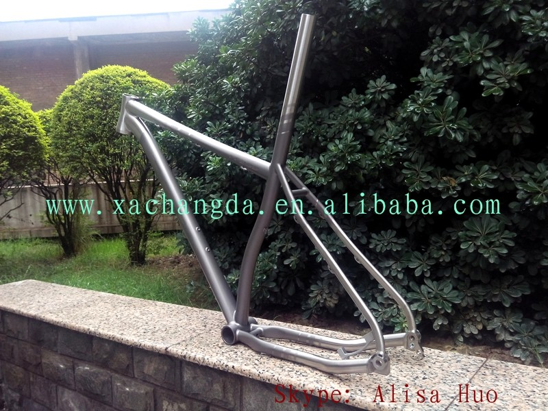titanium new cycling bike frame titanium mtb bike frame with thru 142X12mm dropout titanium mountain 29er bike frame