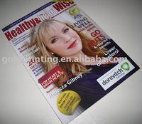Fashion Magazine Printing from China
