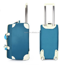 High quality portable big capacity waterproof nylon trolley luggage travel bags