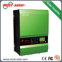 Solar System 10 kw AC DC Inverter with 60A or 120A MPPT Charge Controller