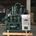 Mobile type transformer oil purification/ Enclosure oil filtering machine / oil recycling/ Used oil treatment