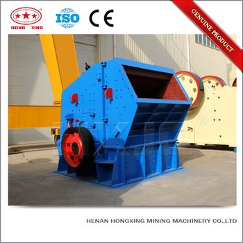 Professional widely used CE stone impact crusher machine