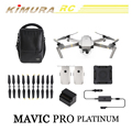Original Professional DJI Mavic Pro Platinum Fly More Combo Kit Drone With HD Camera