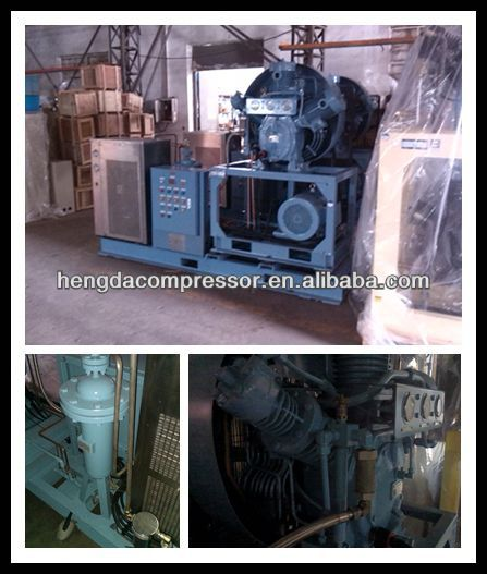 Kaishan brand KB Series three stage reciprocating air compressor-15 kW piston air compressor 56CFM 435PSI 30HP 1.6m3 30bar 22kw