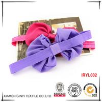 The new design custom pretty ribbon bow baby accessories hair