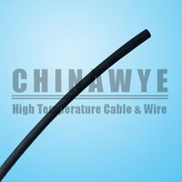 200C 600V High voltage silicone rubber cable sleeve