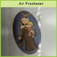 Summer Hot Promotion Item Card Paper Vehicle Air Freshener