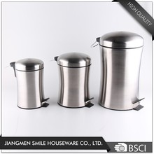 Advertising office trash can mini stainless steel waste bin
