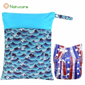 Modern Waterproof One Zipper Wet Bags For Travelling Swimming Pool