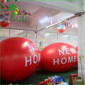 Commercial Display Decoration Inflatable Flying Oval Egg Helium Balloon