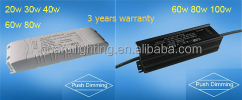 push switch constant current dimmable 600ma led driver made in China