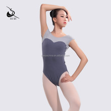 11414142 Girls Cap Sleeve Ballet Leotard Dance high cut leotard