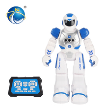 intelligent induction action walking sliding robot toy for children