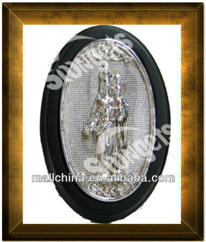 SG-13003-2K Religious Polyresin and Electroplating frame icons