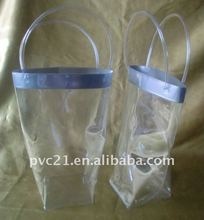 Customized plastic PVC ICE bag pouch