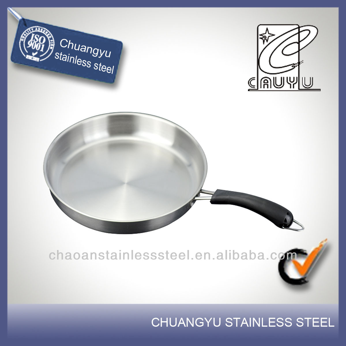 New product stainless steel peter costume pan