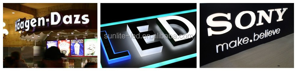 used outdoor lighted signs/ led driver module