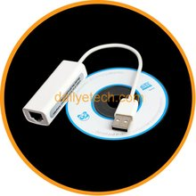 NEW USB to RJ45 External Lan Ethernet Network Adapter Card For Apple Mac Win7 from dailyetech