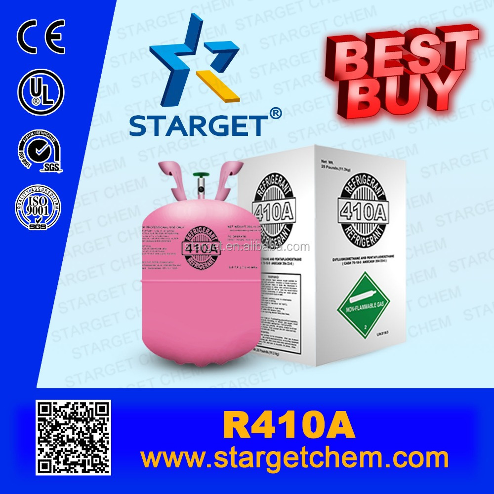 New price R410A substitute for gas cylinder r22