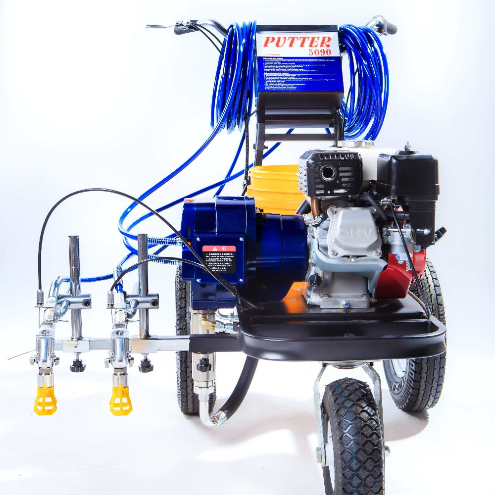 2017 Newly Economic PT5090 road line marking machine airless paint sprayer