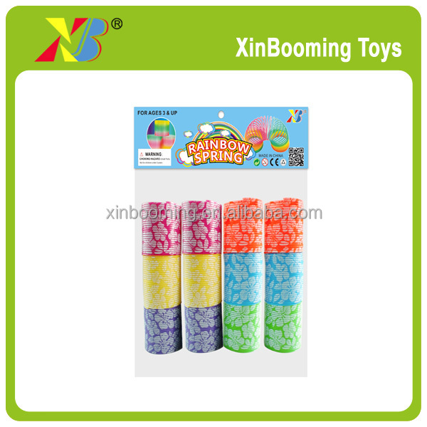Party Classic Toy For Kids Educational Plastic Rainbow Spring