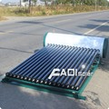 Zero Angle Frame Heat Pipe Solar Water Heater For Pitched Roof (150Liter)