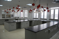 radiatition prevention chemistry laboratory table