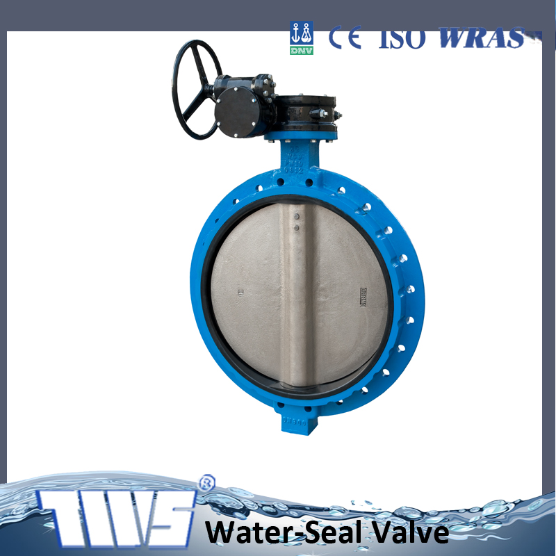 dn800 butterfly valve wafer end type with worm gear acuator alibaba express china