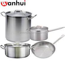 NSF Quality large Stainless Steel Stock Pot /Commercial induction Cookware