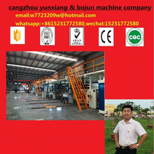 bojun carton box single facer 5 Layers Corrugated Cardboard Production Line B,E,F FLute Carton Making Machine