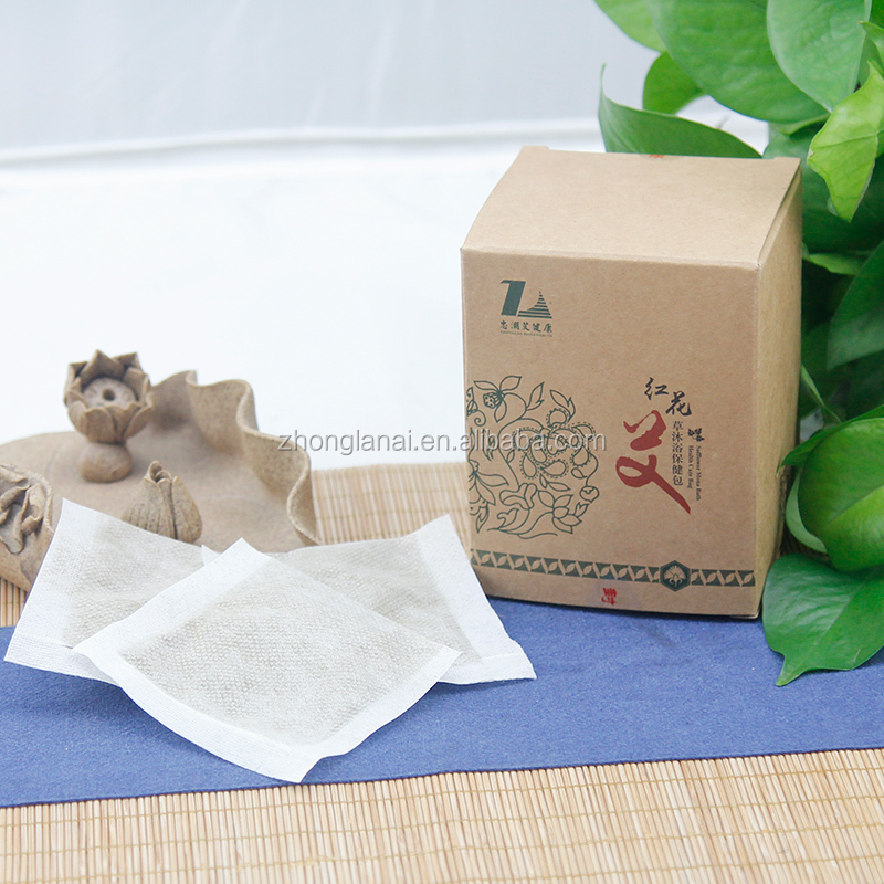Safflower moxa bath health care bag moxa products from China