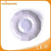 Low voltage detecting wireless curtain pir detector for home alarm system