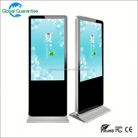 free standing 3g wifi led monitor advertising full hd player