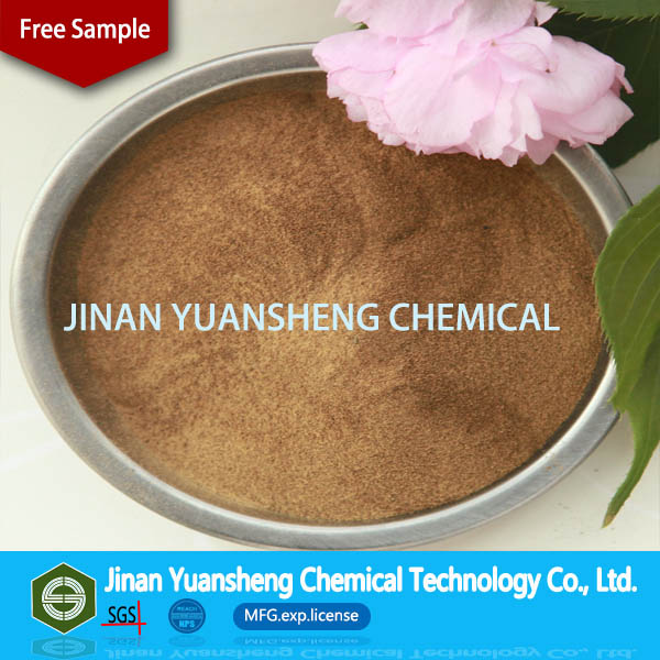 Concrete water reducing admixture Ca lignin sulfonate for firebrick raw material