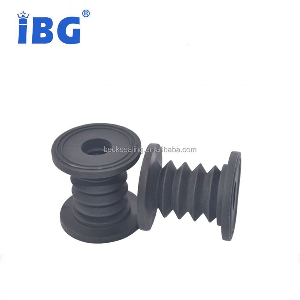 HNBR/Silicone Small Rubber Bellows Corrugated Rubber Bellow