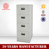 High Quality Office Furniture Vertical Metal Filing Cabinet 4 Drawer Cabinet