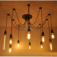 Spider Loft Suspension Luminaire Pendant Lights Hanging Home Decor Vintage Light Fixtures
