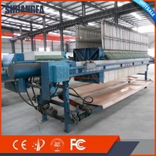 High Quality Chamber Filter Press Machine With Quick Filter Cake Discharge System