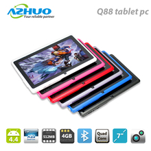 2017 Cheapest quad core 7inch q88 tablet pc in stock
