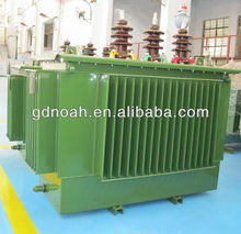 6.6kv copper winding amorphous alloy core used oil immersed power electrical 500kva transformer with price