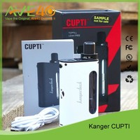 Newest electronic cigarette Kanger CUPTI 75W TC Starter Kit Top Filling Kanger CUPTI